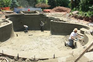 pool excavators